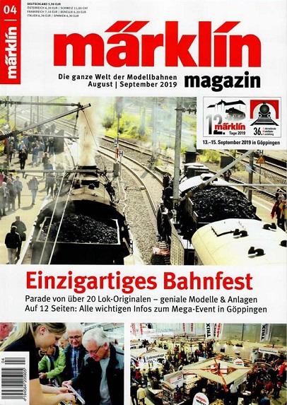 märklin Modellbahnen - Magazin September 2019