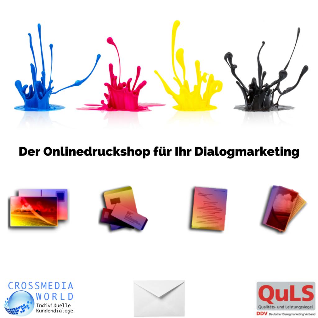 Online Druckshop für Dialogmarketing