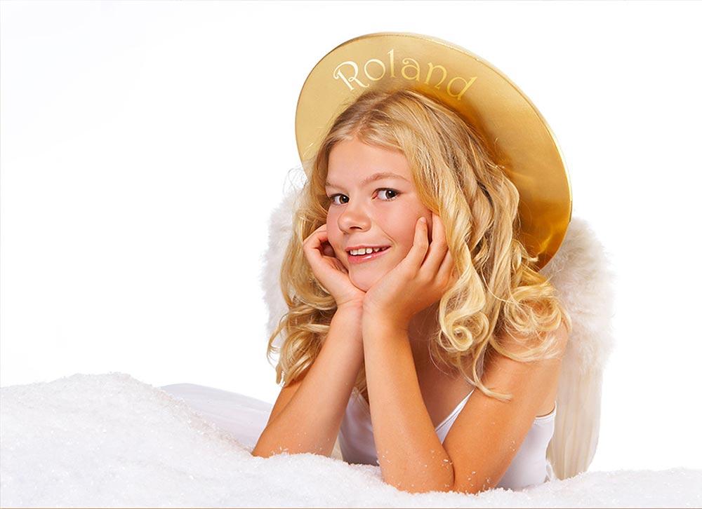 Bildpersonalisiert - Kind - Weihnachtsengel