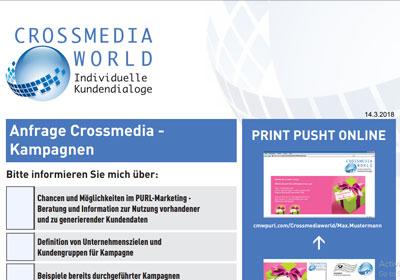 Anfrage Crossmedia Kampagnen