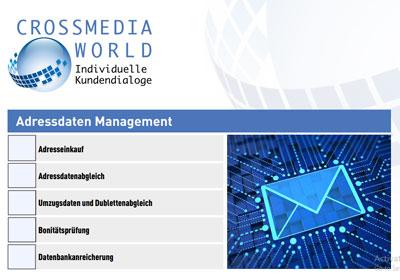 Anfrage Adressdaten Management
