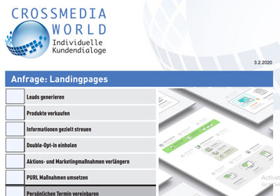 Anfrage Landingpages