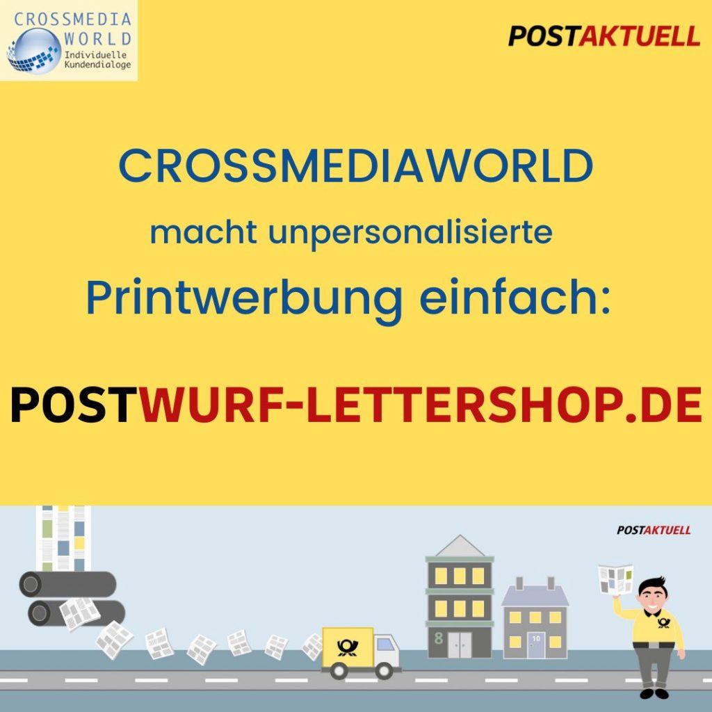 Postaktuell bei Crossmediaworld