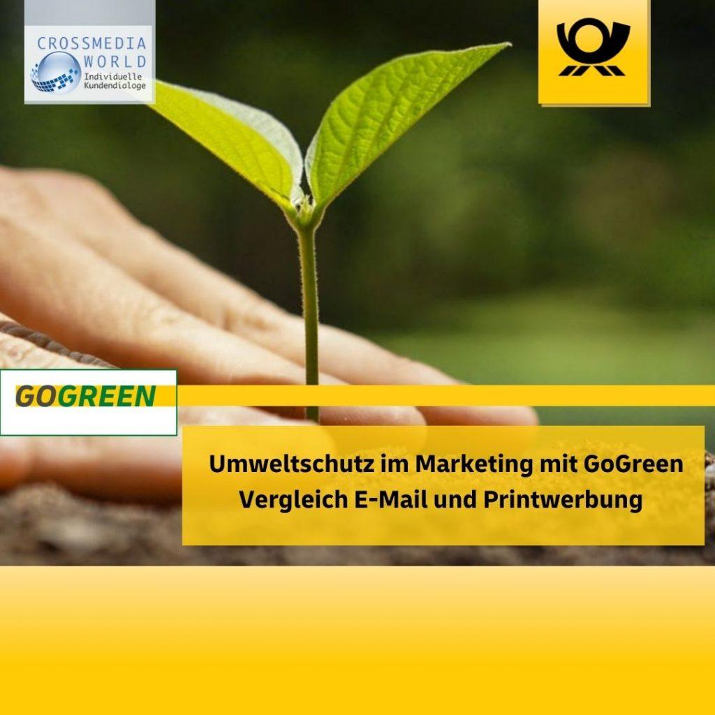 GoGreen Umweltschutz im Marketing